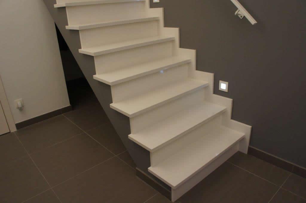 Marmer trappen